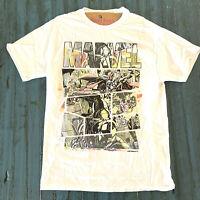 White Marvel Superhero Thor Iron Man Avengers T-Shirt Shirt M, L EXL Sizes