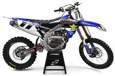 Yamaha YZ YZF 125 250 350 450 WR WRF Kit completo de gráficos de Motocross Mx Rockstar