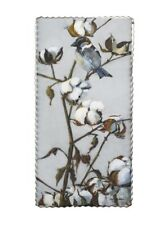 Round Top Collection NWT - Cotton Branch Bird Print - Metal & Wood