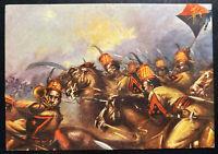 1940 Ethiopia Italy Picture Postcard Cover Cavalry Squadron