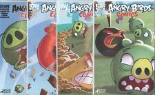 ANGRY BIRDS COMICS #5 6 7 8 5-8 WHEN PIGS FLY SUB COVER SET NM