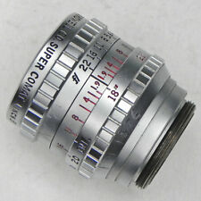 Bell & Howell 25mm f1.9 Super Comat C mount  #2