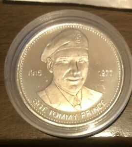 Sgt Tommy Prince Red River 1978 Dollar