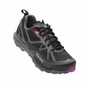 Pearl Izumi Women's X-ALP Seek VII MTB Cycling Shoes Black Purple EU 40 US 8.5