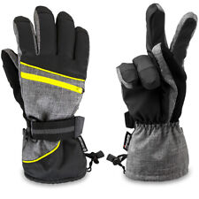Waterproof Winter Ski Snow Snowboarding Gloves Thermal 3M Thinsulate Warm Fleece