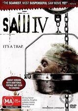 SAW IV 4 UNCUT : NEW DVD