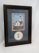 Nautical Lighthouse-In Him was Life; & the Life was the Light of Men.  Prints