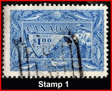 Canada Used Stamps 1951 Commemorative - Fishing Resources $1 #302 (253-1)