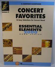 Hal Leonard Concert Favorites Essential Elements 2000 Vol.2 Eb Baritone Saxopho