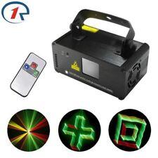 3D Effect R&G Laser Light Mix Yellow Remote DMX Projection dj ktv Disco Party