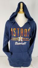 Brand New Majestic Houston Astros MLB Women's Hooded Sweatshirt - Size Medium