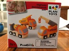 PlanToys Plan City Highway Maintenance 6047
