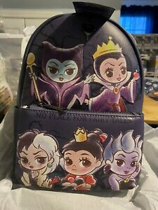 Loungefly Chibi Villains Mini Backpack. Brand New With Tags. Never Used