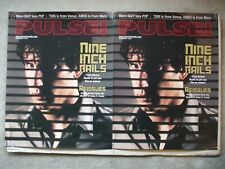 Nin Nine Inch Nails 2 posters from Pulse Magazine & Tower Records November 1999