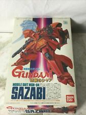 gundam mobile suit msn-04 model kit 1/144 ( As Is , Assembled And Disassembled)