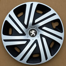 """Brand new silver 16"""" wheel trims hubcaps to fit Peugeot Partner,Expert,407,508"""