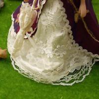 #5 1:12 Puppenhaus Miniatur Porzellan Puppe Mittelalter Victoria Frauen Lady de