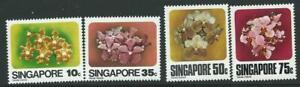 SINGAPORE SG346/9 1978 ORCHIDS MNH