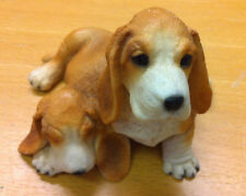 Castagna Basset Hound puppies dog collectable