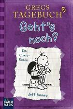 """Gregs Tagebuch 5 """"Geht's noch?"""" Jeff Kinney Taschenbuch neu ungelesen da doppelt"""