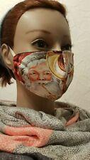 Gesichtsmaske Mund- Nasenabdeckung Maske Kinder Weihnachtsmann Weihnachten Tromp