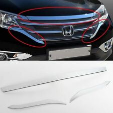 2012+ Honda CR-V Chrome Front Hood Bonner Guard Cover Molding Trim D-925
