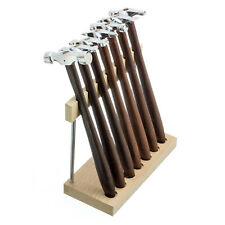 Universal Hobby 7 Piece Jewelers Hammer Set With Wooden Handle