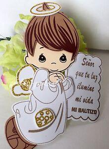 """8""""10Bautizo Party Table Decorations Foam Centerpiece Favors Supplies Boy Baptism"""