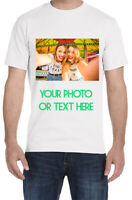 sHIP THE SAME DAY! Custom Made Personalized T-Shirts Photos on a shirt-CLEARANCE