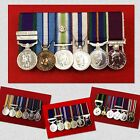 6 x Supplied & Court Mounted Miniature Medal Group Choose Your Miniature Medals