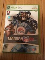 EA SPORTS NFL MADDEN 08 - XBOX 360 - NO MANUAL - FREE S/H (Z)