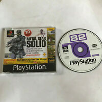 PS1 Boxed Demo Disc 82 Official Playstation 1 Resident Evil 2 / Metal Gear Solid