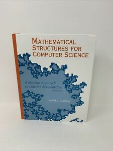 Mathematical Structures for Computer Science Sixth 6th Ed. Gersting (Hardcover)