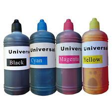 4 X 100ml Universal Printer Refill Ink Bottles for CISS or Refillable Cartridges