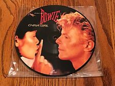 DAVID BOWIE China Girl 7 INCH PICTURE DISC ~ 1983