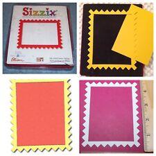 Sizzix Die Rectangle ZigZag Frame Originals Photo Scrapbook Diecut Retired NEW