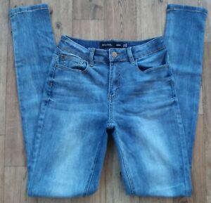 Ladies Long Tall Sally Skinny Blue Jeans Size 12 Waist 30 Long Leg 34