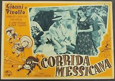 Corrida Messicana - Gianni e Pinotto - Locandina 1948 Film Poster Plakat Y-4542+