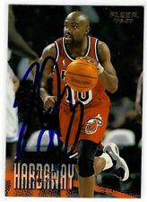 Tim Hardaway Signed 1996/97 Fleer Card #57