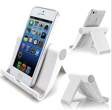 NEW Multi-Angle Stand for Tablets, E-readers and Smartphones, Color: White  2PK
