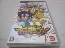 Con il numero di inseguimento 7-14 giorni per USA. S1 SONY PSP DIGIMON Adventure Ver Giapponese