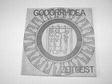 "GODORRHOEA - ""Zeitgeist"" 17 song 7"" EP. Anarcho punk. Rudimentary Peni."