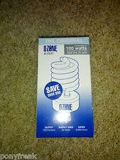 NEW Ozone Lite Air Purifier Light Bulb Eliminate Odors Smoke Kill Bacteria TIO2