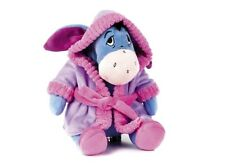 "NEW 12"" DISNEY EEYORE IN DRESSING GOWN FROM WINNIE THE POOH PLUSH SOFT TOY"