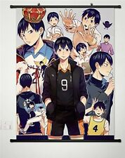 Home Decor Japanese Poster Wall Scroll Haikyuu!! Tobio Kageyama Cosplay School