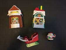 Fisher Price Little People Christmas Village Play Set with Santa Figure