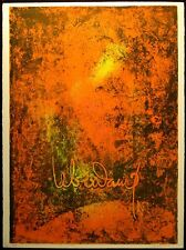 """Le Ba Dang Signed Art Lithograph from """"Nature Prays Without Words"""" suite"""