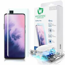 WHITESTONE DOME Tempered Glass UV Fullcover 9H 0.33MM CURVED for ONEPLUS 7 PRO
