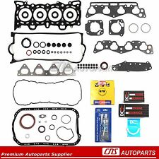 96-00 1.6L HONDA CIVIC SOHC RE-RING KIT FULL GASKETS BEARINGS RINGS D16Y5 Y7 Y8