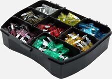 160 Stück Auto-Sicherungen Mini Sicherungen Flachsicherungen KFZ Sicherung Box